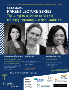 Parent Lecture Series